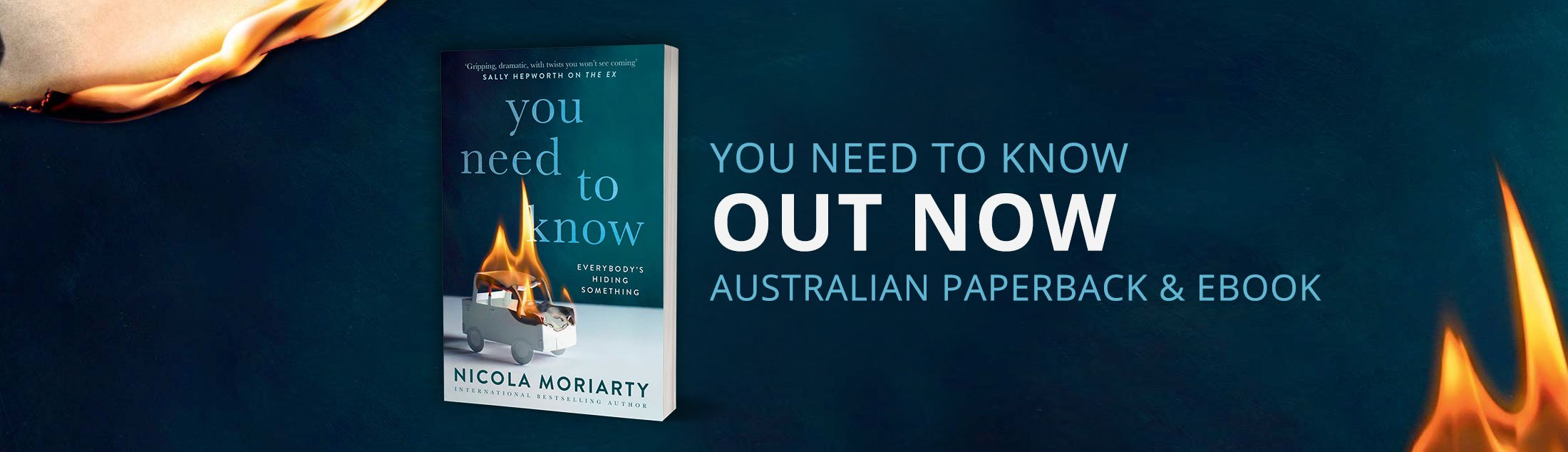 You Need to Know - Out Now in Australia